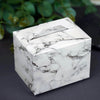 "50 PCS | Marble Design Tote Favor Boxes - 4""x3""x3"""