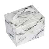 "50 PCS | 4""x3""x3"" Marble Design Tote Favor Boxes"