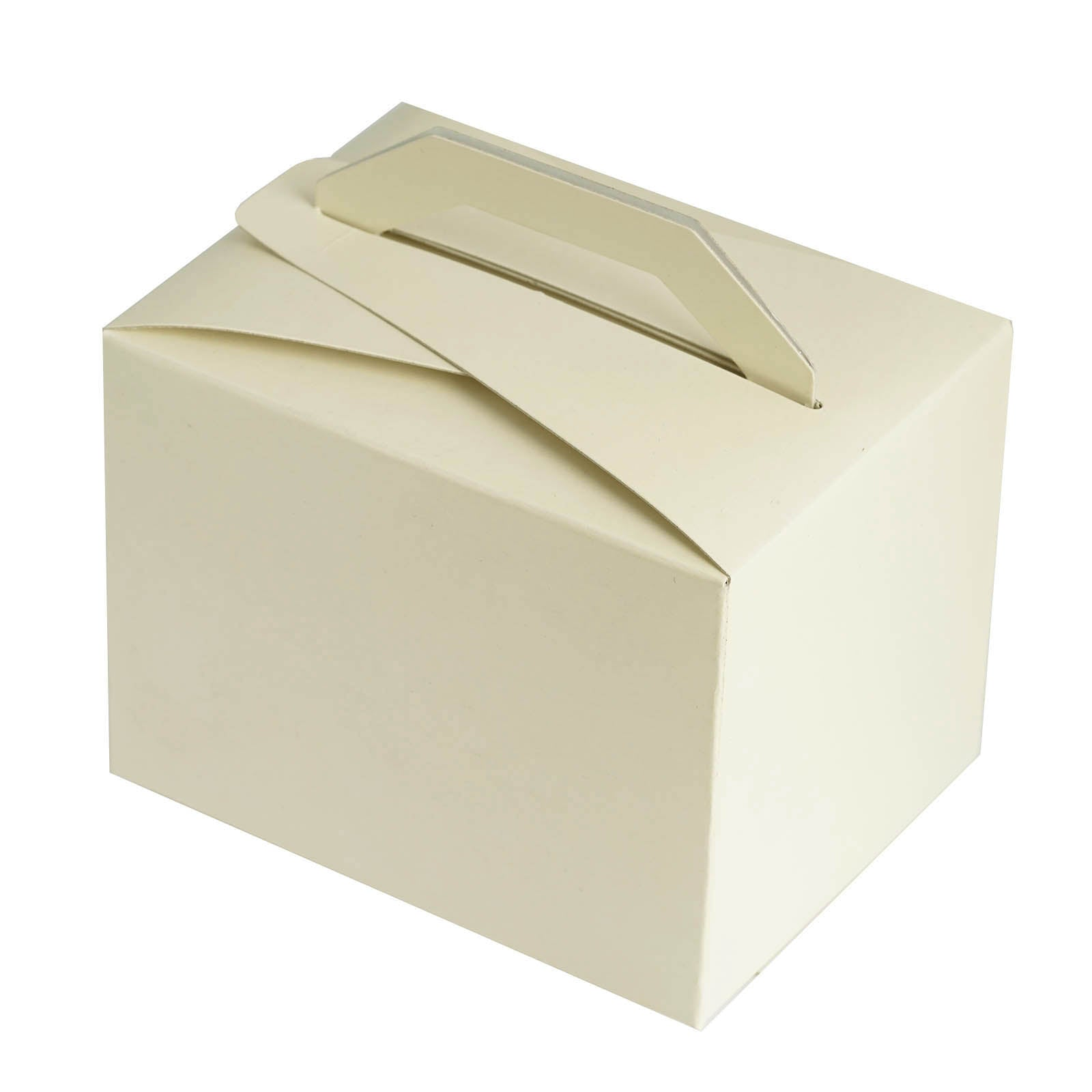 Ivory Tote Favor Boxes Bridal Shower Party Favor Gift Container ...