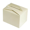 100 PCS Ivory Tote Favor Boxes
