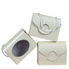 10 PCS Ivory Clutchable Purse Favor Boxes