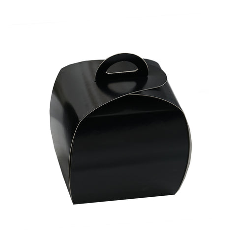 25 Pack Black Cupcake Party Favor Boxes