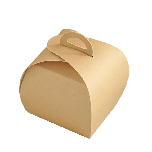 25 Pack - Tan Party Cupcake Boxes - Wedding Favor Boxes