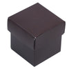 100 Favor Boxes Burgundy 2 pcs Favor Boxes