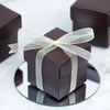 100 Favor Boxes Chocolate 2 pcs Favor Boxes