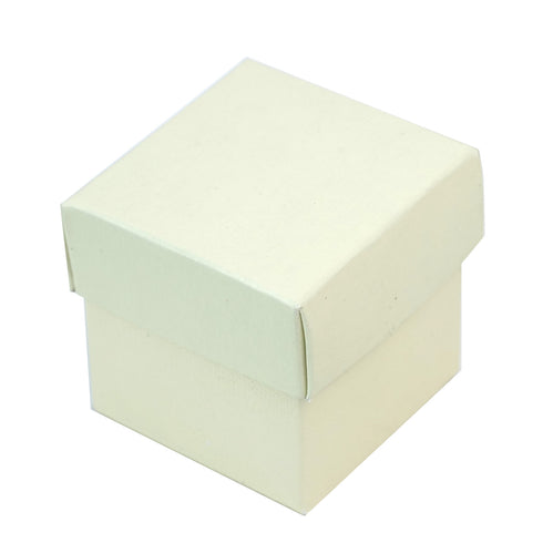 100 Favor Boxes Ivory 2 pcs Favor Boxes