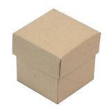 Natural 2pc Favor Boxes - 100 boxes