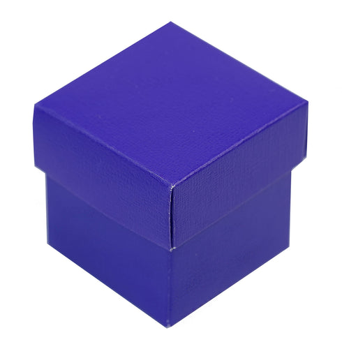 100 Favor Boxes Purple 2 pcs Favor Boxes