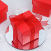 100 Favor Boxes Red 2 pcs Favor Boxes