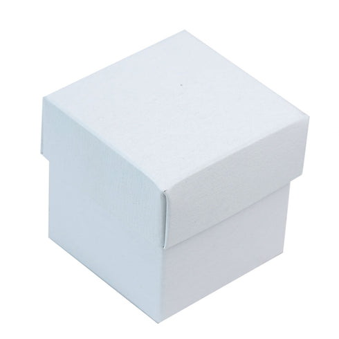100 Favor Boxes White 2 pcs Favor Boxes