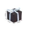 100 PCS | 2inch x 2inch Chocolate Party Favor Boxes