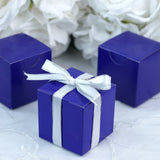"100 PCS 2"" x 2"" Violet Favor Boxes"