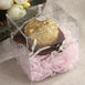 "25 PCS 3.5"" x 3.5"" Clear Plastic Favor Boxes"