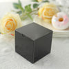 "100 PCS | 3""x3"" Black Party Favor Boxes"