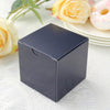 "100 PCS | 3""x3"" Navy Blue Party Favor Boxes"