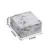 "50 PCS 4""x4""x2"" Marble Design Cake Favor Boxes"