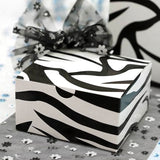 Black/White Zebra 4x4x2 Cake Boxes-100pc
