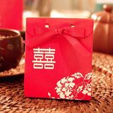 Double Happiness Favor Box -100pc