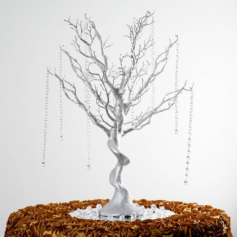 "30"" Vogue Manzanita Centerpiece Tree - Silver"