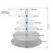 "6 Tier Acrylic Round Cupcake Stand | 20.5"" Height 