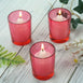Red Votive Holders-12/pk