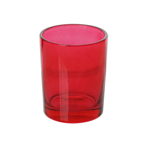 12 Pack Red Candle Tea Light Votive Holders