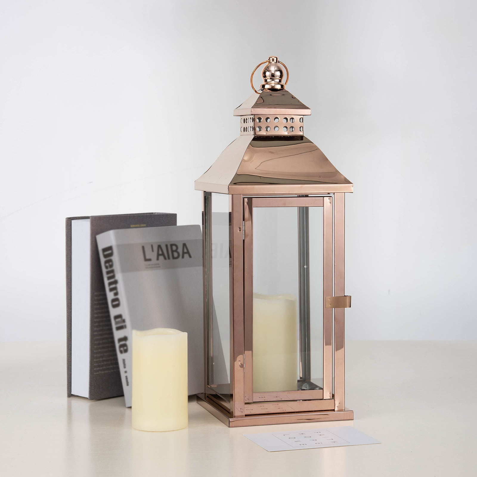 Metal Lantern Centerpieces, Outdoor Candle Lanterns | eFavorMart