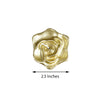 Pack of 4 - Gold Rose Flower Floating Candles