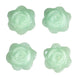 Rose Floating Candles  - Light Green - 4pcs