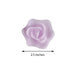 Pack of 4 - Lavender Rose Flower Floating Candles