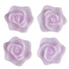 Rose Floating Candles  - Lavender - 4pcs