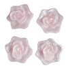 Rose Floating Candles  - Pink - 4pcs