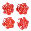 Rose Floating Candles  - Red - 4pcs