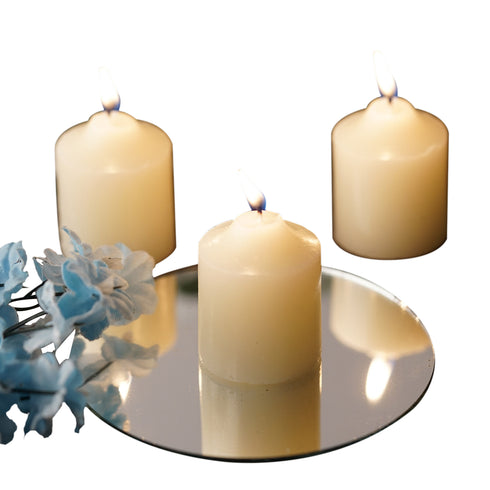 12 Votive Candles - Ivory