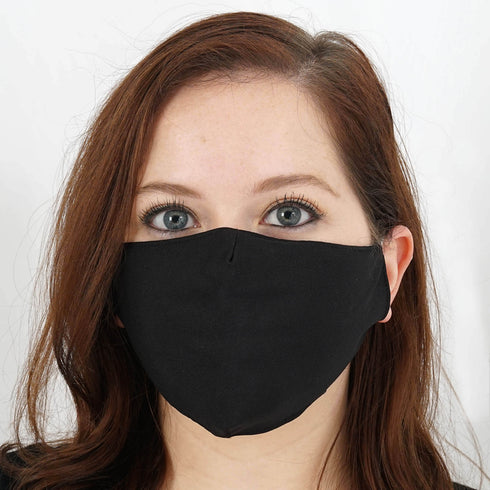 Cotton Face Mask, Washable Face Mask, Protective Masks, Black Face Mask, Organic Face Mask