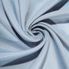 Dusty Blue Polyester Folding Round Chair Covers