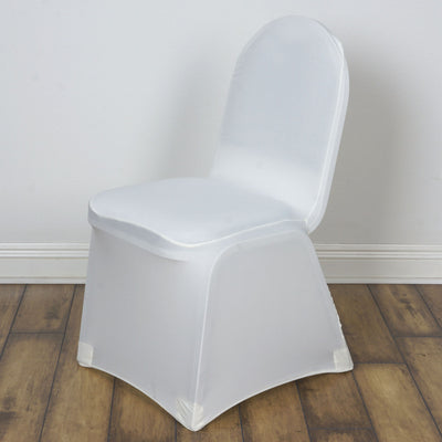 Ivory Milan Banquet Chair Covers
