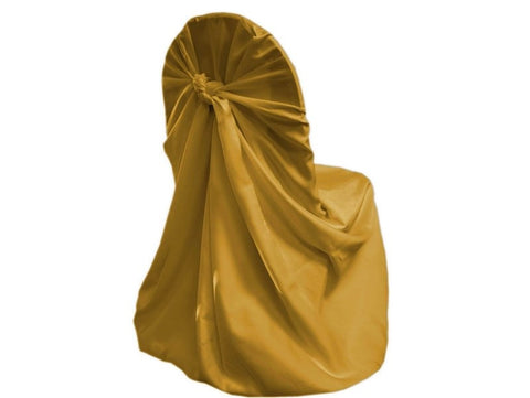 Gold Lamour Universal Chair Cover