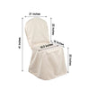 Toffee Crown Back lamour satin chair cover | Large Banquet Chair Cover