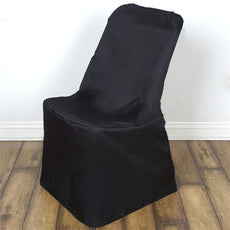 Black Lifetime Folding Chair Cover