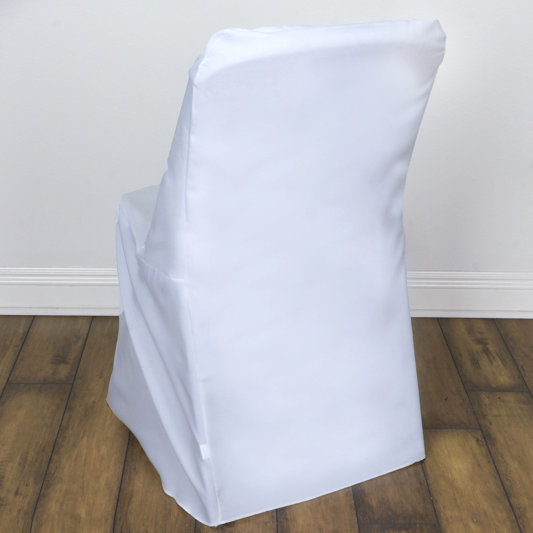 Polyester Lifetime Folding Chair Covers White