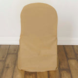 5 Pack Premium Non-Woven Eco-Friendly Banquet Chair Cover.