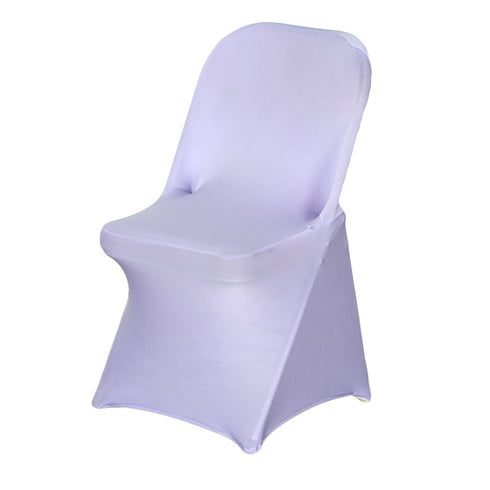 Spandex Stretch Folding Chair Cover - Lavender