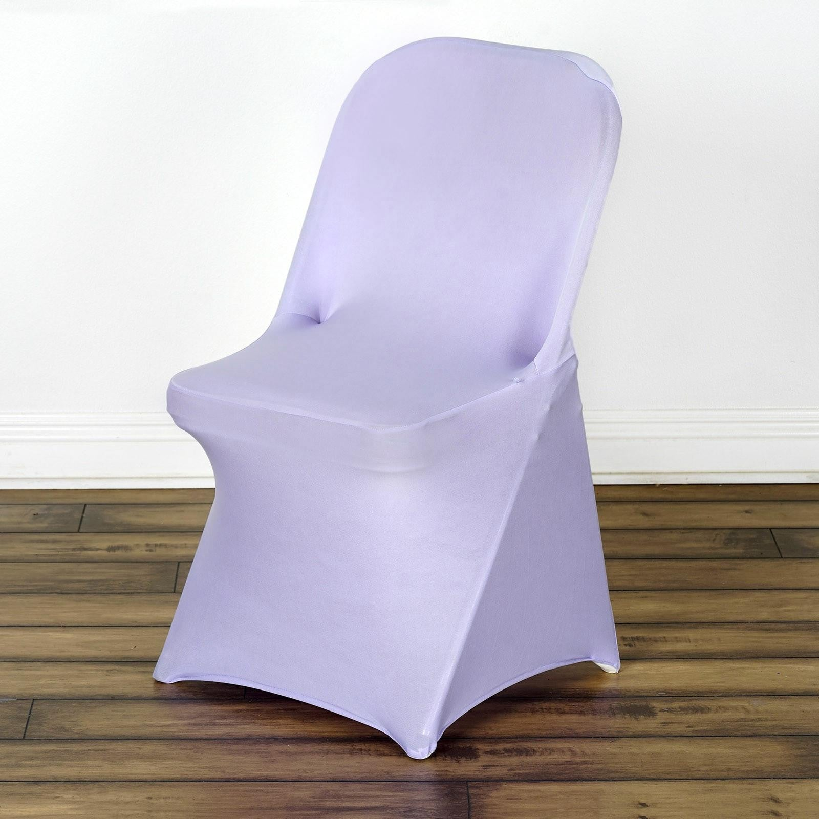 Folding chair covers wholesale under 1 - Wholesale Lavender Spandex Stretch Folding Chair Cover Wedding Party Event Sold Out