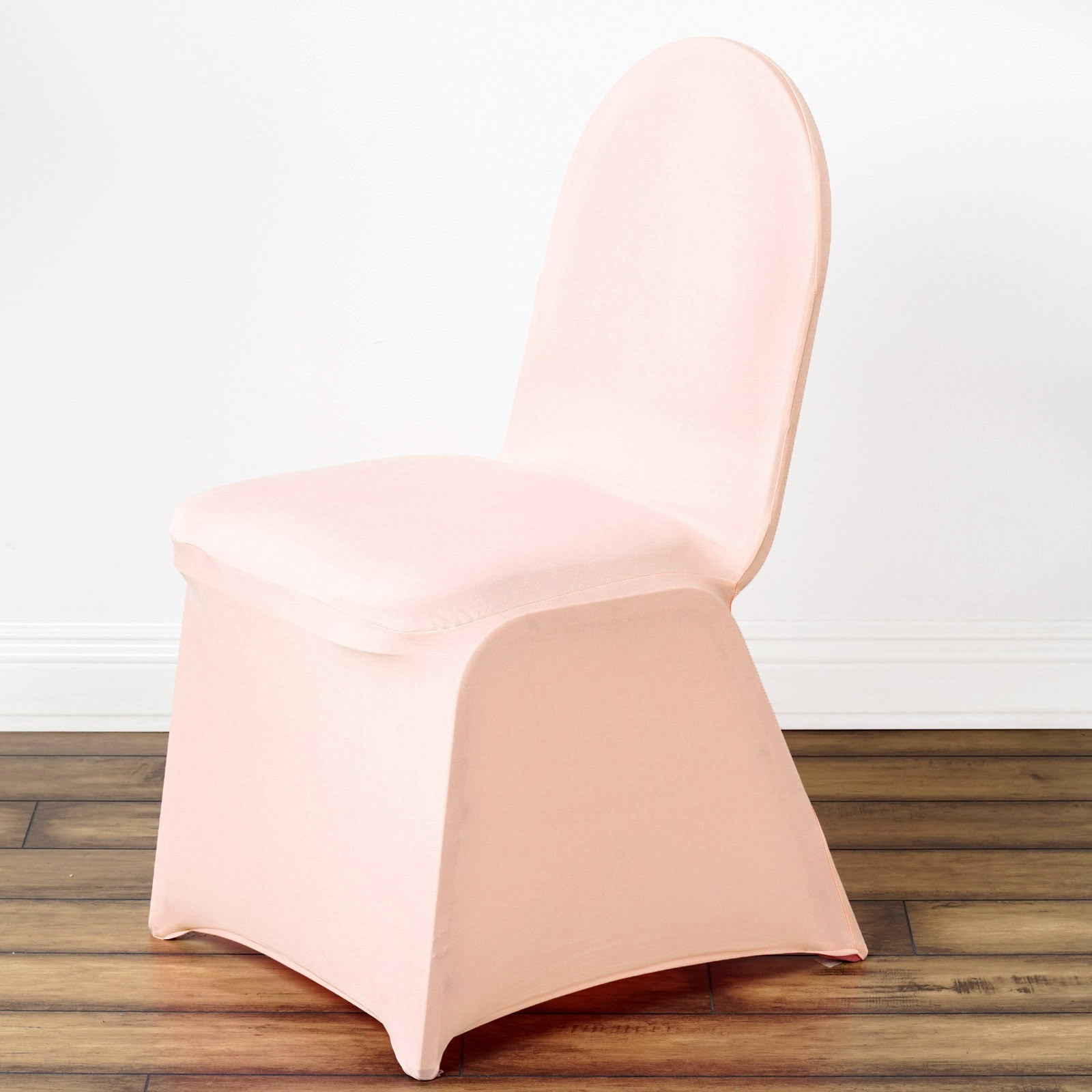 ... Spandex Stretch Folding Chair Cover   Blush ...