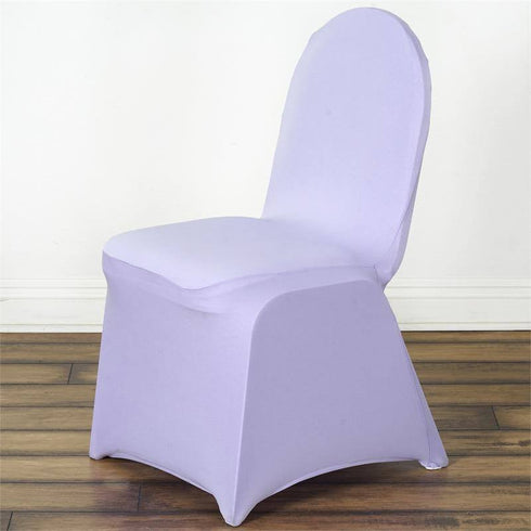 Lavender Banquet Spandex Chair Cover