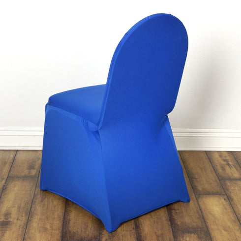Royal Blue Banquet Spandex Chair Cover