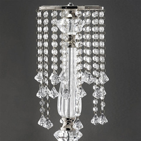 22 tall flower stand crystal pendants chandelier centerpiece 22 tall flower stand crystal pendants chandelier centerpiece mozeypictures Gallery
