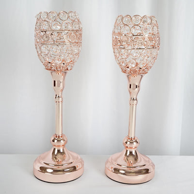 "2 Pack | 14"" Tall Blush 