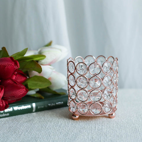 "4"" Tall Blush 